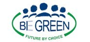 BE GREEN logo